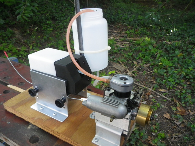 Running some marine engines: OS MAX-S 30 RC Imgp3710