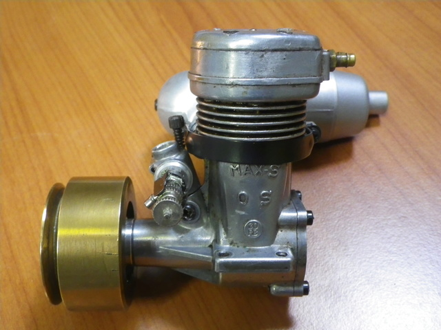 Running some marine engines: OS MAX-S 30 RC Imgp3711