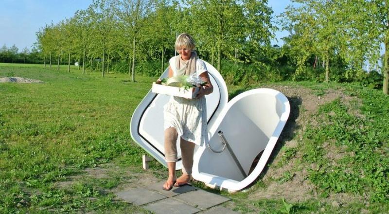 Pays-Bas : il invente un frigo souterrain qui fonctionne sans électricité Captww13