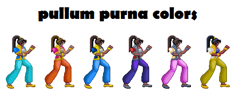 pullum purna from street fighter EX released! Palett10