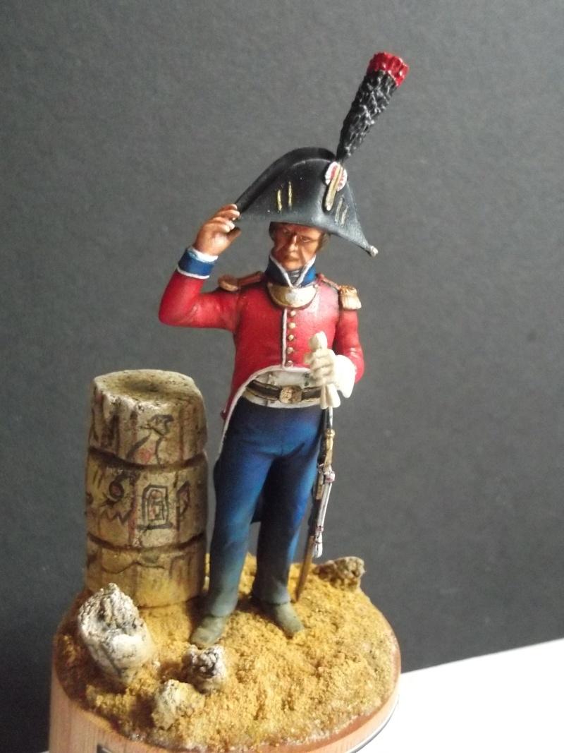 lieutenant en GRD tenue Egypte 1798/1801, Métal Models figurines Dscf6210
