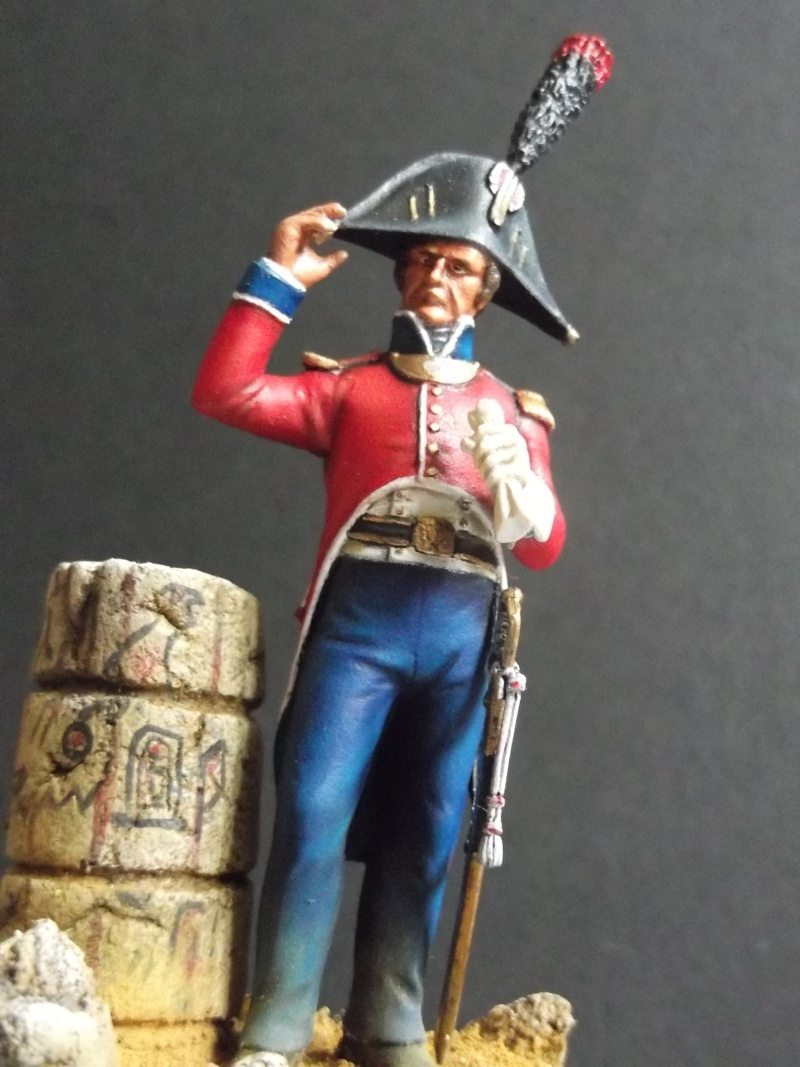 lieutenant en GRD tenue Egypte 1798/1801, Métal Models figurines Dscf6213