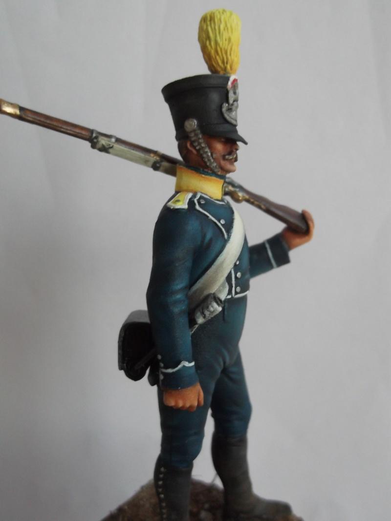 Voltigeur d'infanterie 1812 Métal Modèles par Giacomel Dscf6312