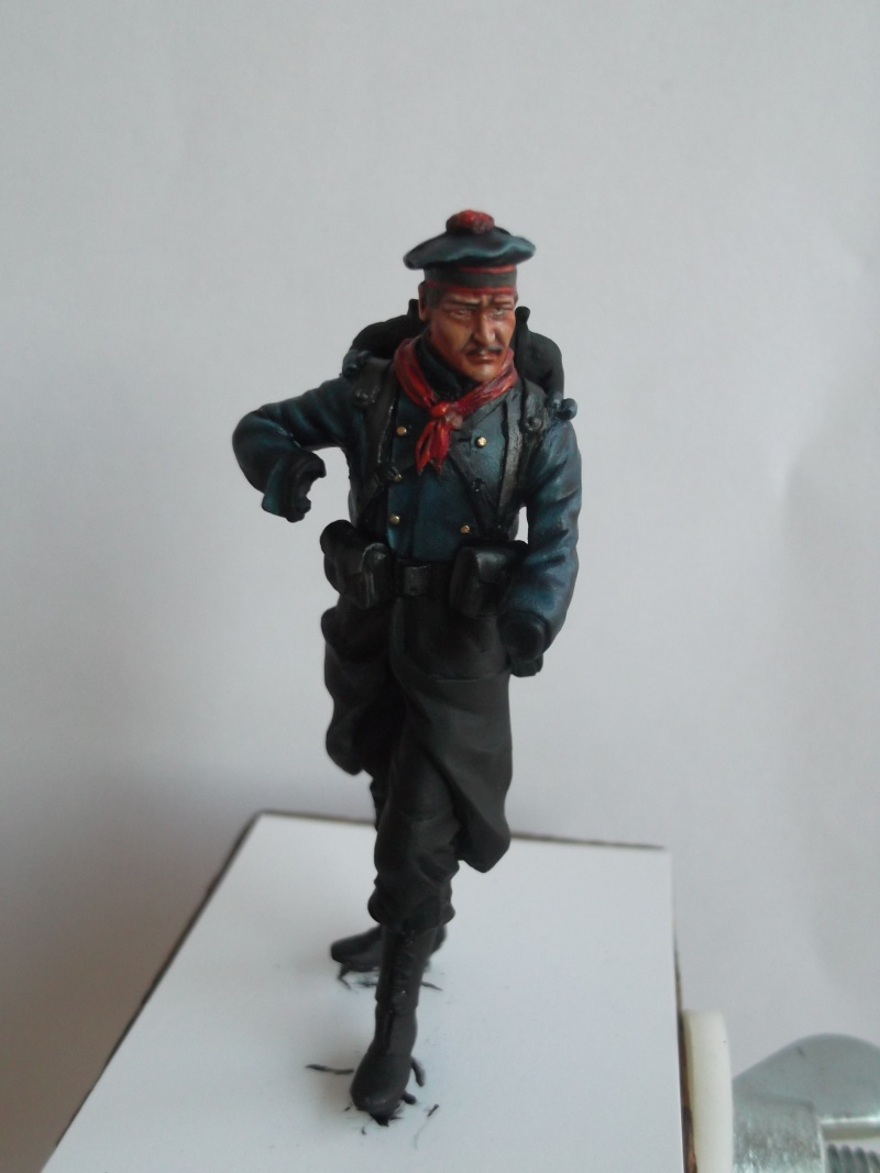 Fusilier Marin Français Dixmude 1914, figurine Métal Modeles par Giacomel Dscf6314