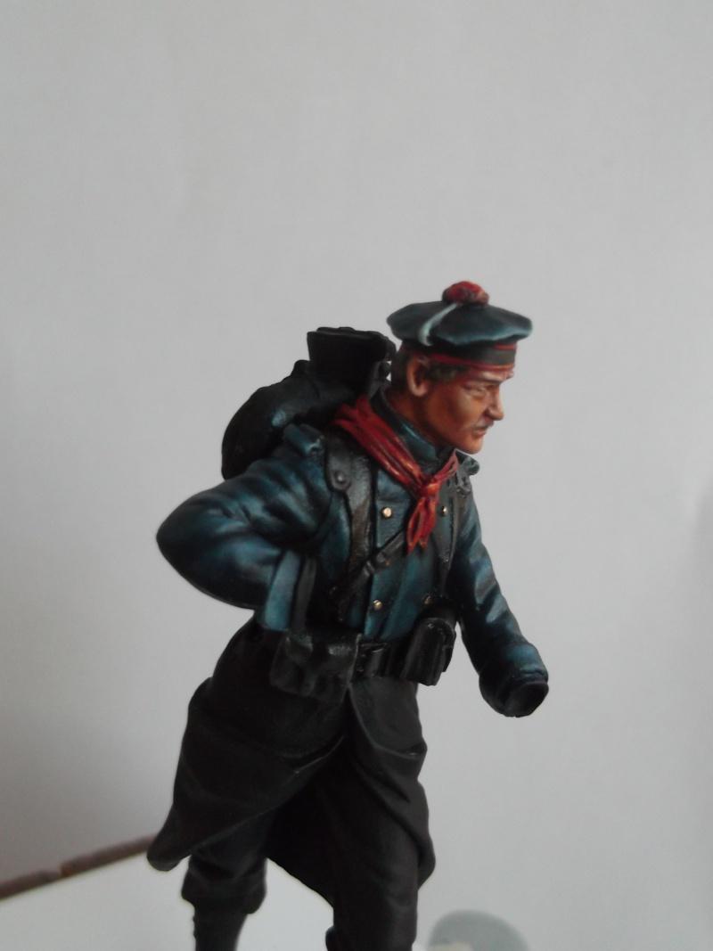 Fusilier Marin Français Dixmude 1914, figurine Métal Modeles par Giacomel Dscf6316