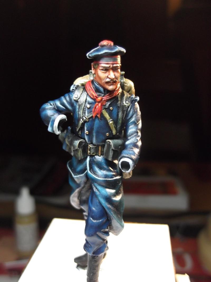 Fusilier Marin Français Dixmude 1914, figurine Métal Modeles par Giacomel Dscf6320