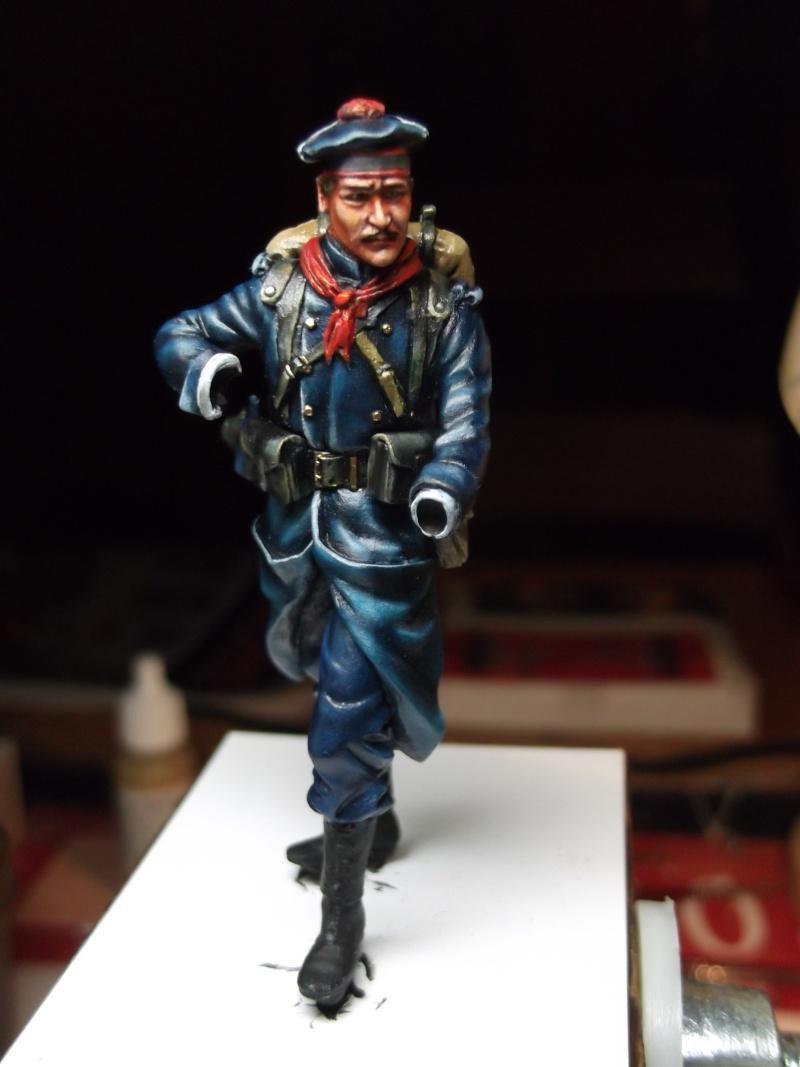 Fusilier Marin Français Dixmude 1914, figurine Métal Modeles par Giacomel Dscf6321