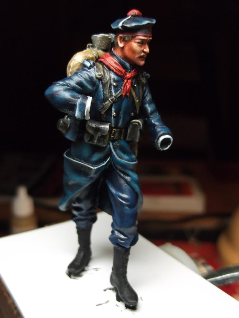 Fusilier Marin Français Dixmude 1914, figurine Métal Modeles par Giacomel Dscf6322