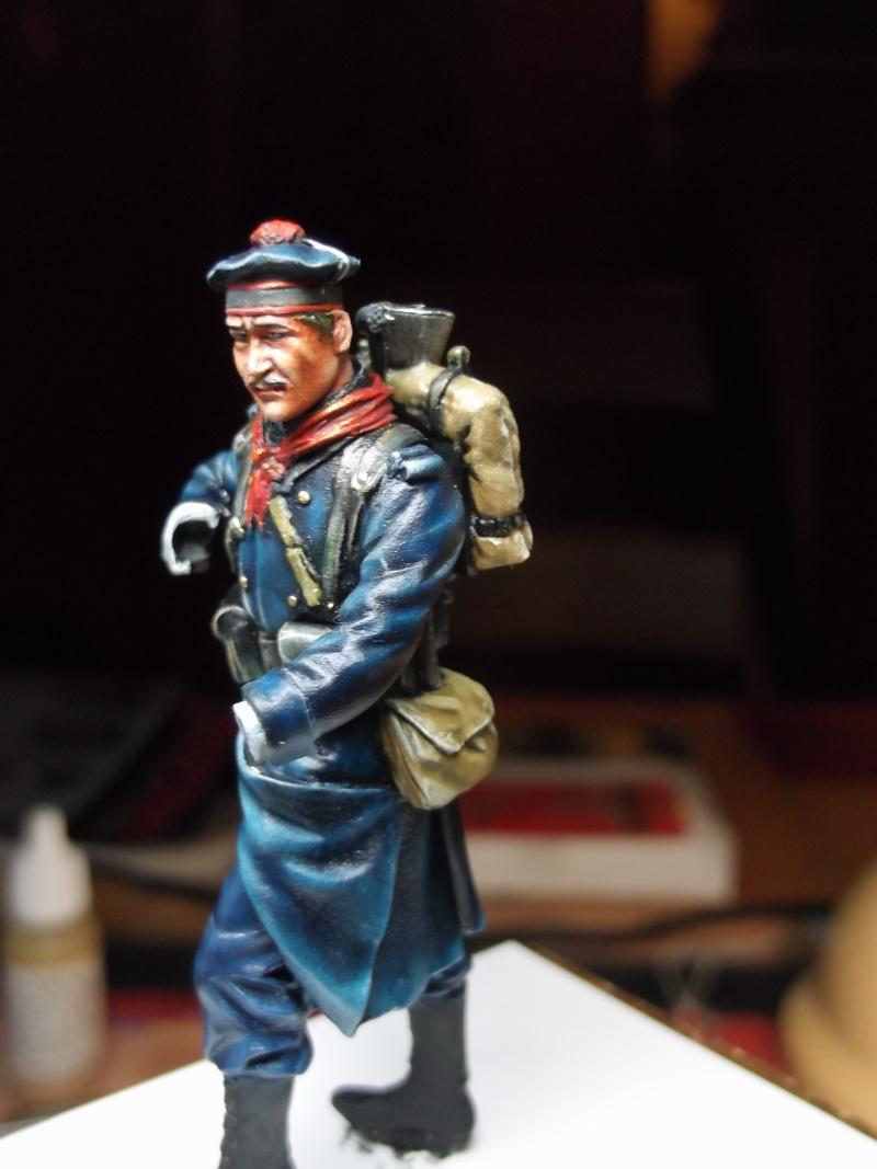 Fusilier Marin Français Dixmude 1914, figurine Métal Modeles par Giacomel Dscf6323