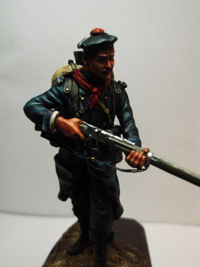 Fusilier Marin Français Dixmude 1914, figurine Métal Modeles par Giacomel Dscf6324