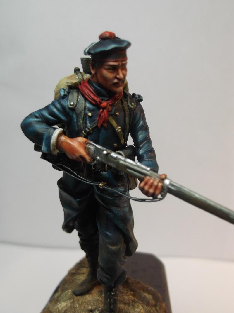 Fusilier Marin Français Dixmude 1914, figurine Métal Modeles par Giacomel Dscf6325