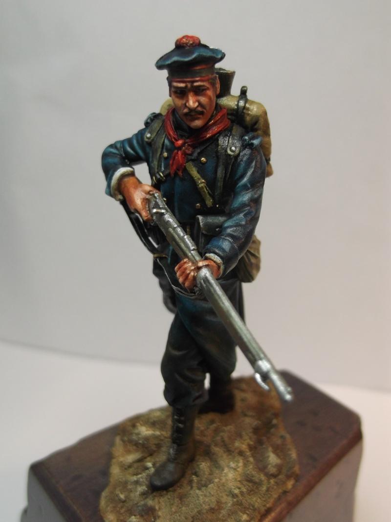 Fusilier Marin Français Dixmude 1914, figurine Métal Modeles par Giacomel Dscf6326