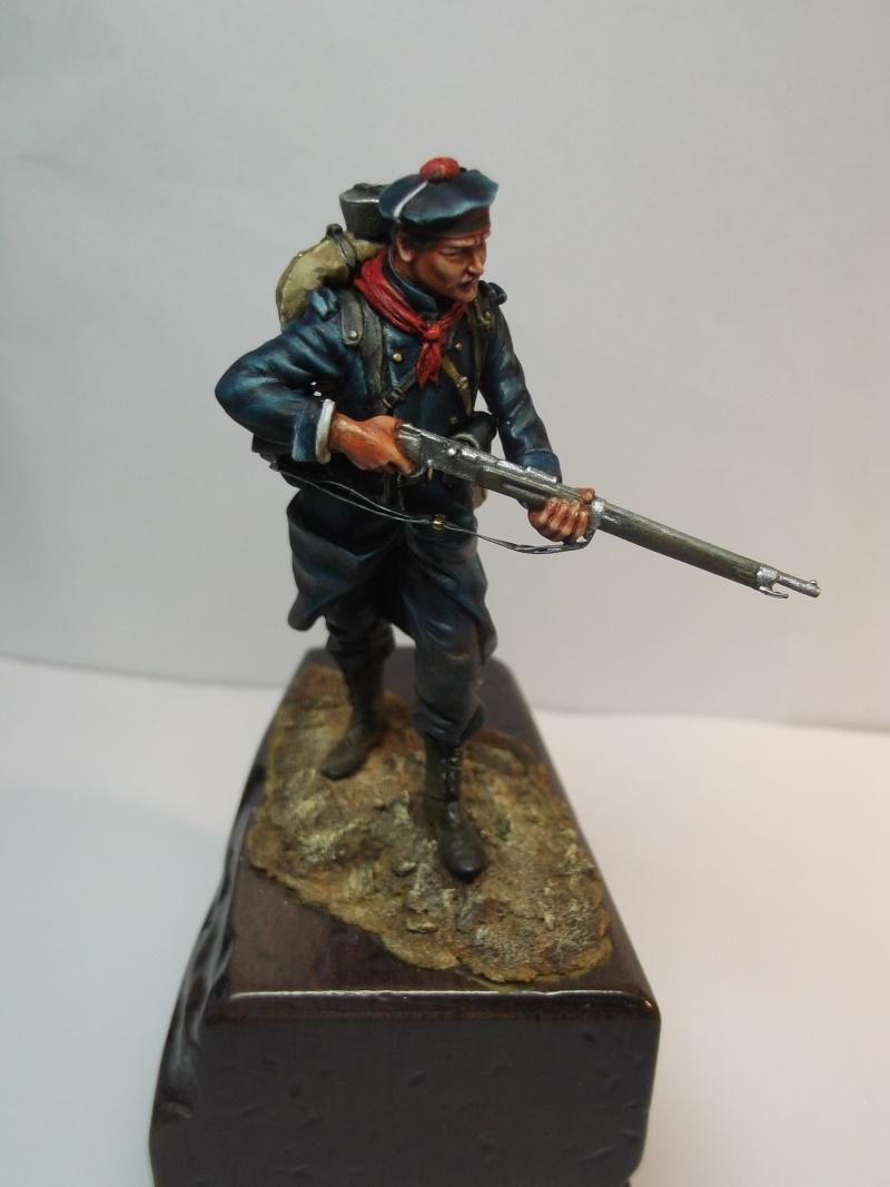 Fusilier Marin Français Dixmude 1914, figurine Métal Modeles par Giacomel Dscf6330