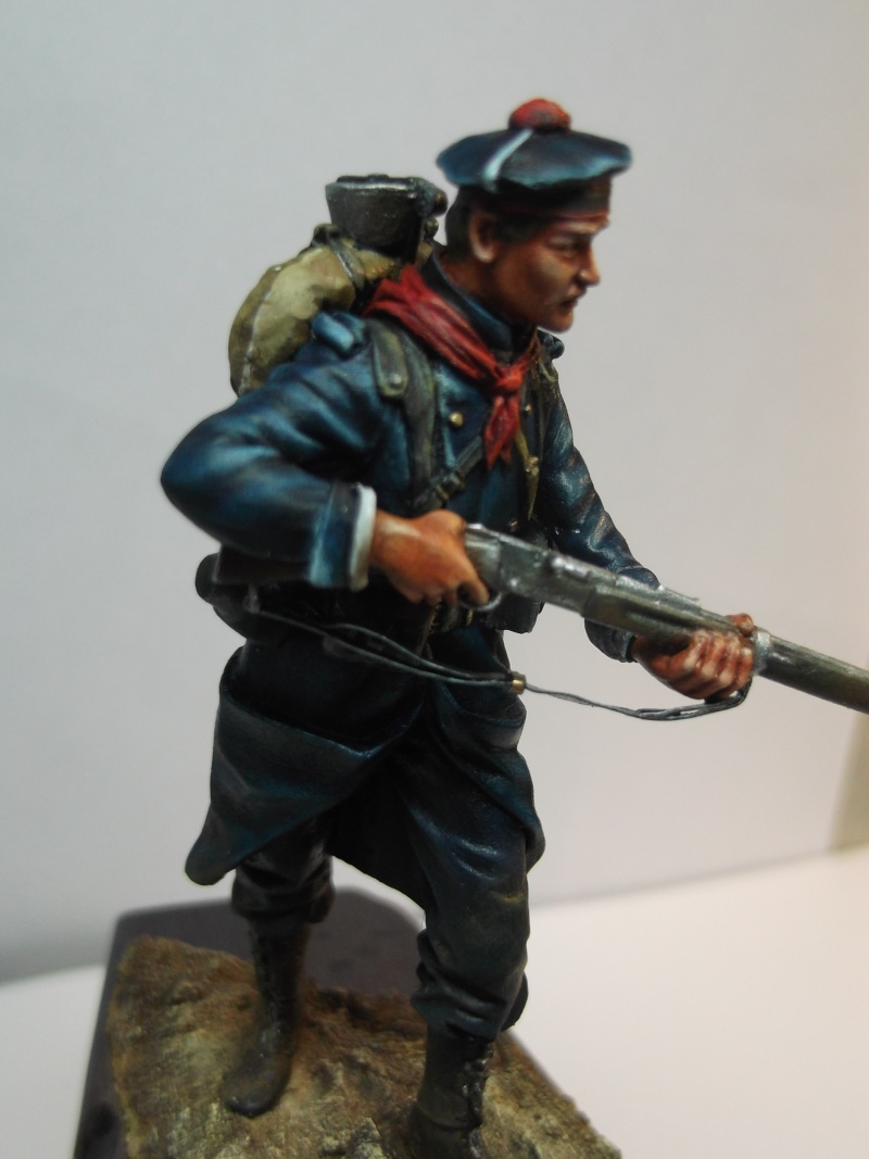 Fusilier Marin Français Dixmude 1914, figurine Métal Modeles par Giacomel Dscf6331