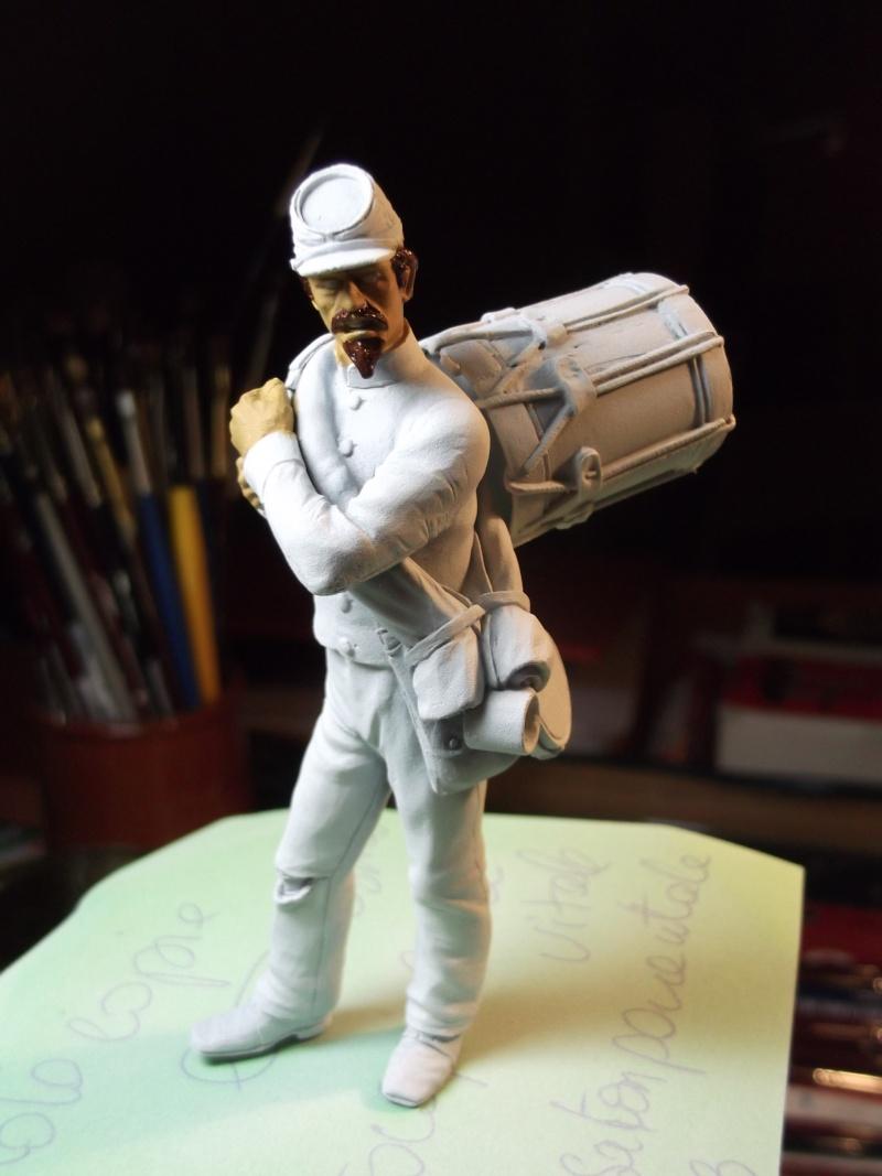 Tambour confédéré Elite miniature par Giacomel Dscf6332