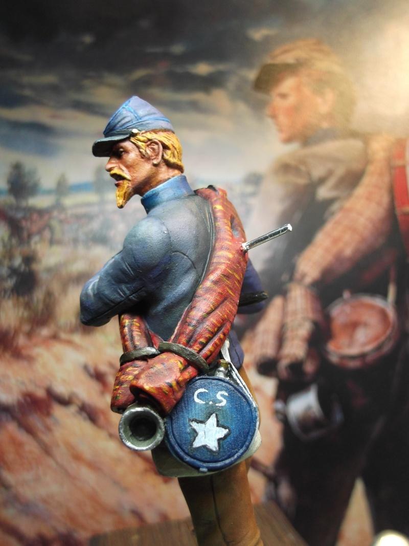 Tambour confédéré Elite miniature par Giacomel Dscf6335