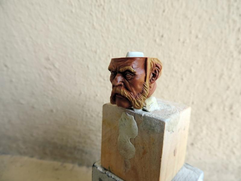 Buste de vétéran Russe à Eylau par Giacomel  Dscn0218