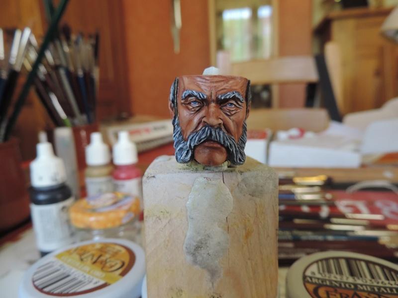 Buste de vétéran Russe à Eylau par Giacomel  Dscn0222