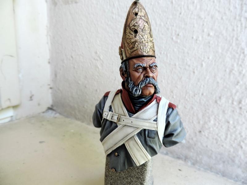 Buste de vétéran Russe à Eylau par Giacomel  Dscn0313