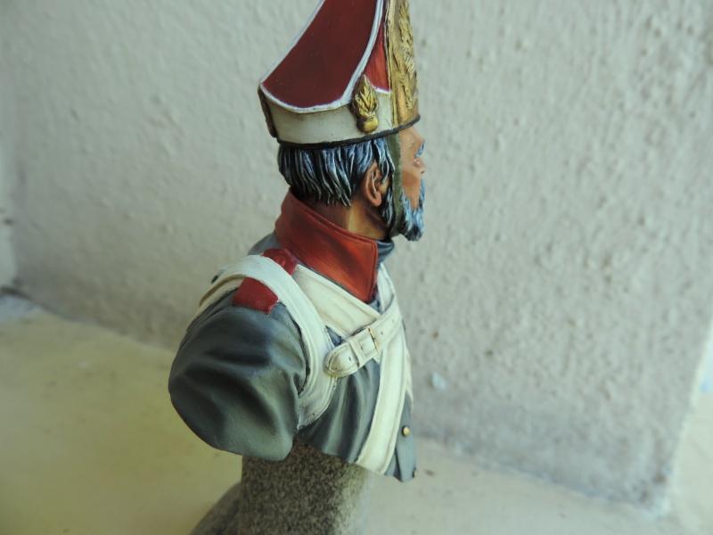 Buste de vétéran Russe à Eylau par Giacomel  Dscn0315
