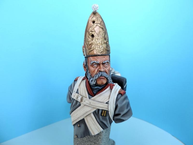 Buste de vétéran Russe à Eylau par Giacomel  Dscn0319