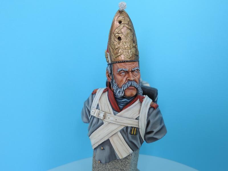 Buste de vétéran Russe à Eylau par Giacomel  Dscn0324