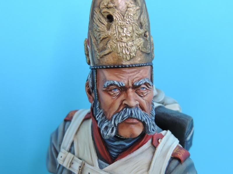 Buste de vétéran Russe à Eylau par Giacomel  Dscn0325