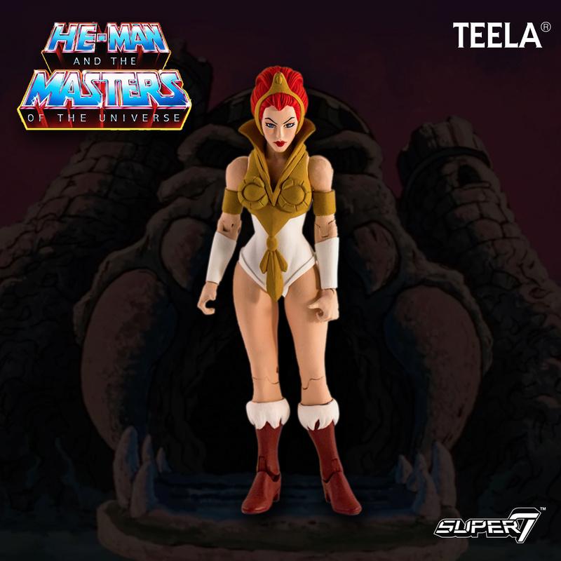 Super 7 - Maitres de l'univers Club Grayskull Filmation Teela10