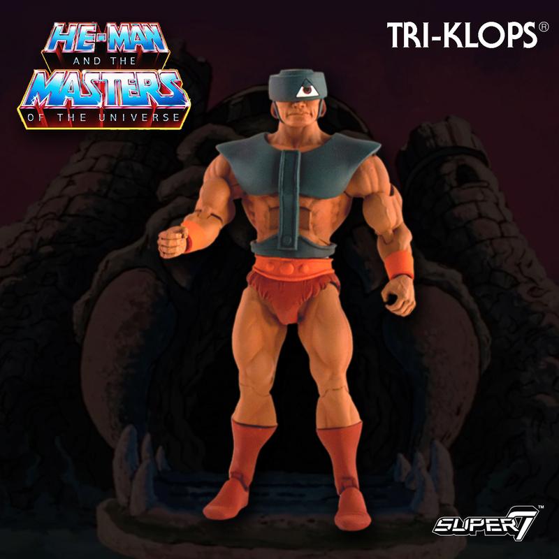 Super 7 - Maitres de l'univers Club Grayskull Filmation Triklo10