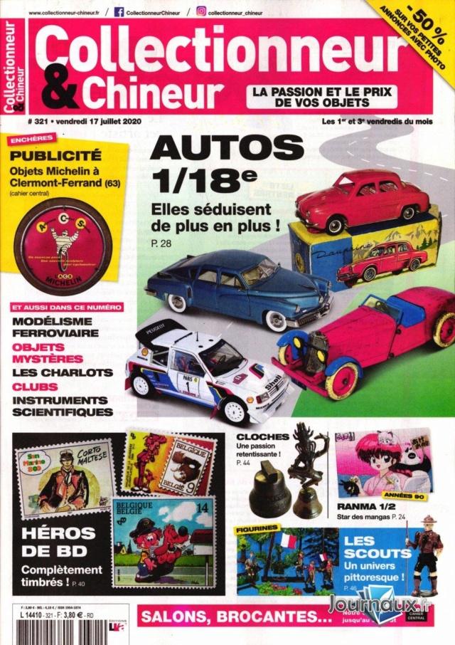 Collectionneur & Chineur n° 321 du 17 juillet 2020 Collec11