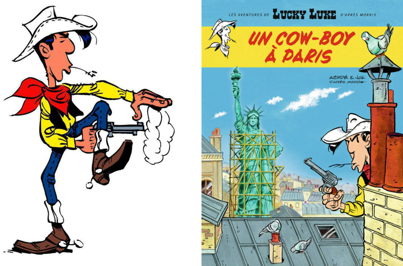 Lucky Luke à Paris E6612810