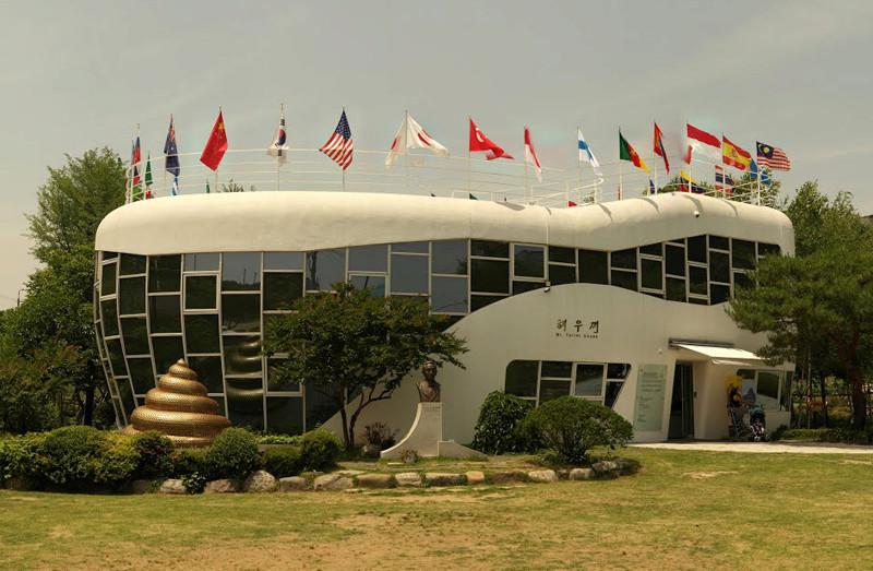 Immeuble en forme de panier de pique-nique, siège de Longaberger, Newark, Ohio - USA 10844610