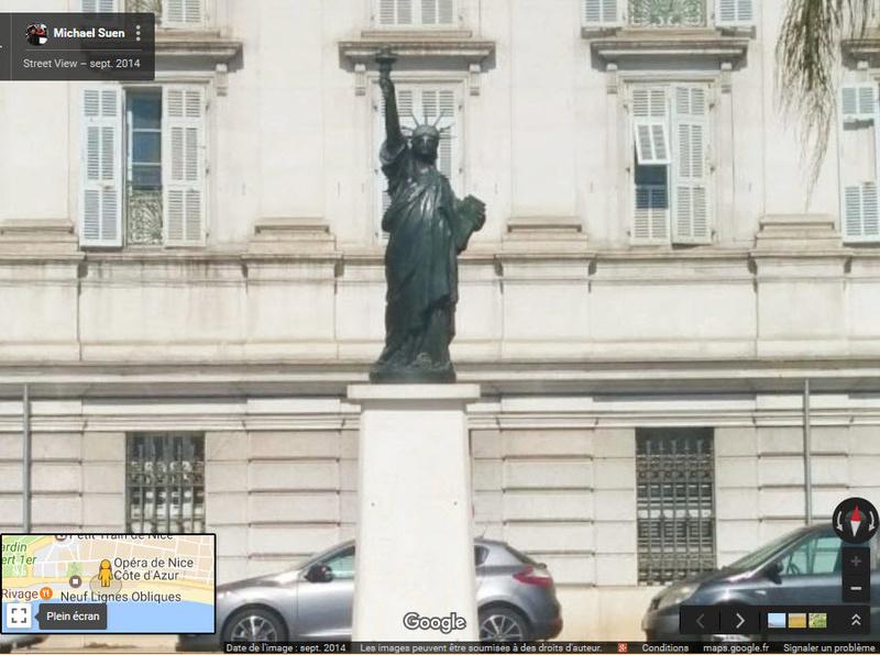 Statue de la Liberté = les répliques découvertes grâce à Google Earth - Page 6 2017-012