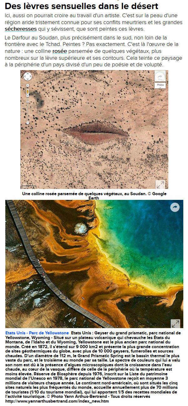 FUTURA Actu et Google Earth 8810
