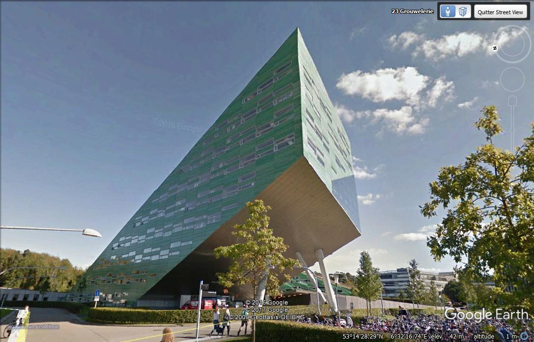 Linnaeusborg, université des scuences de la vie - Groningue - Pays bas. Aaaa10