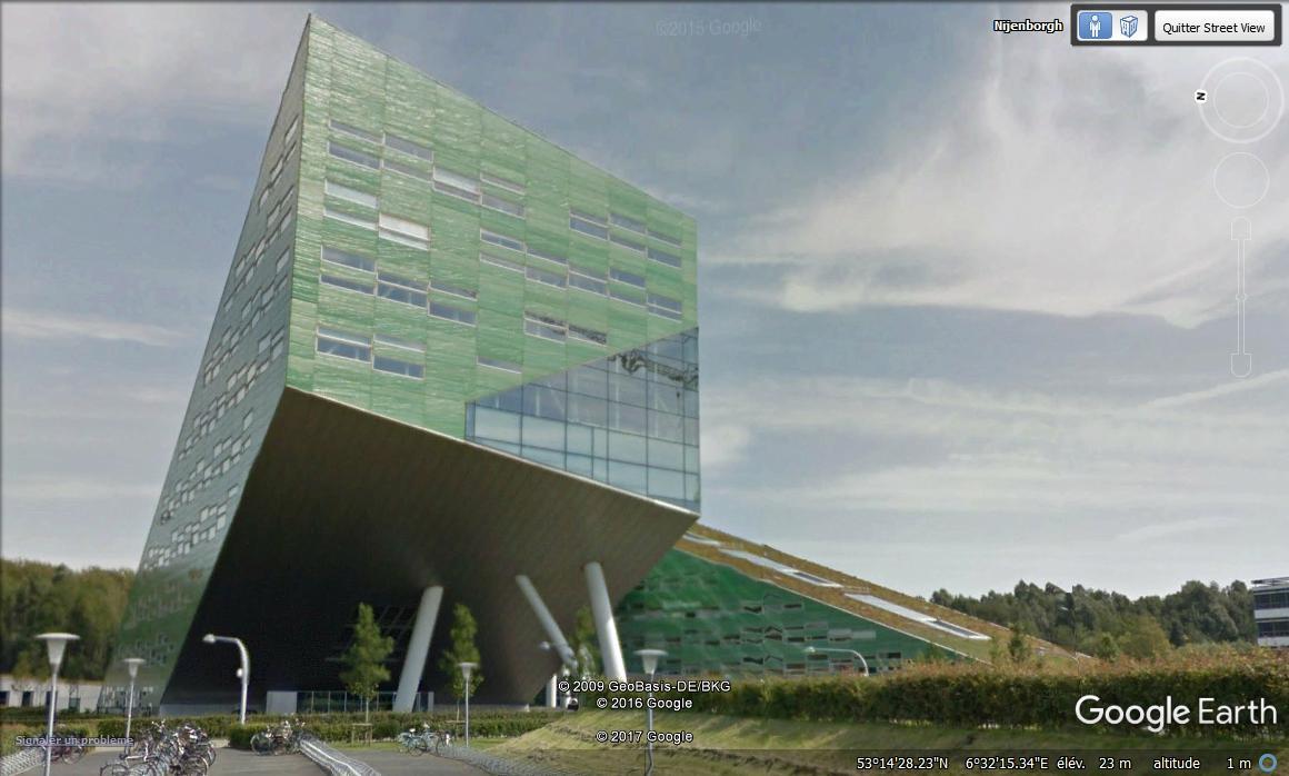 Linnaeusborg, université des scuences de la vie - Groningue - Pays bas. Aaaa311