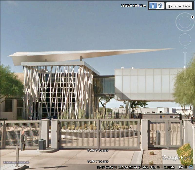 Avion en Papier à l'aéroport de Scottsdale, Arizona - USA Ff10