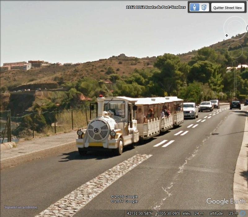 STREET VIEW : les petits trains touristiques Fghjlm10