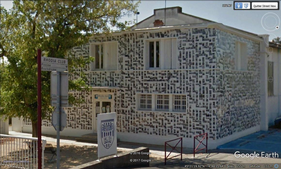 """[Enfin visible sur Google Earth] - Oeuvre """"Les cantonnés"""" à Salaise-Sur-Sanne, Isère (France) Gjggj10"""