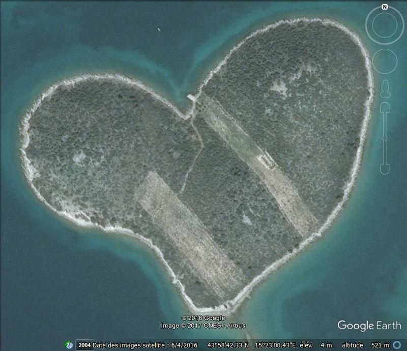 île de l'amour près de Nevidane - Croatie Jjjjj10