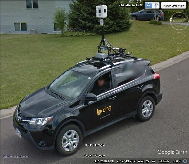 Google-Car contre Bing-Car - Plymouth - Minnesota Jjjjj11
