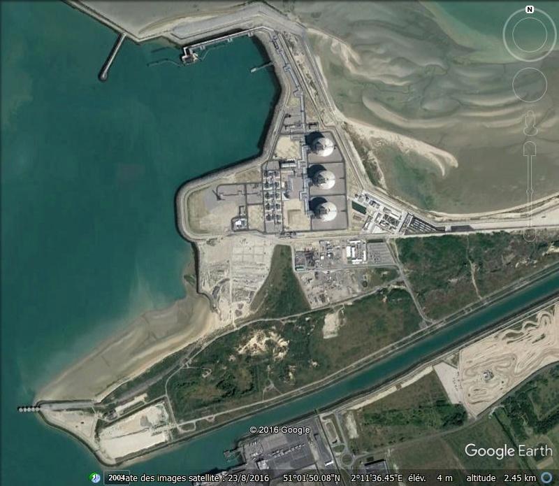 [Enfin visible sur Google Earth] - Futur terminal méthanier de Dunkerque Lllll10