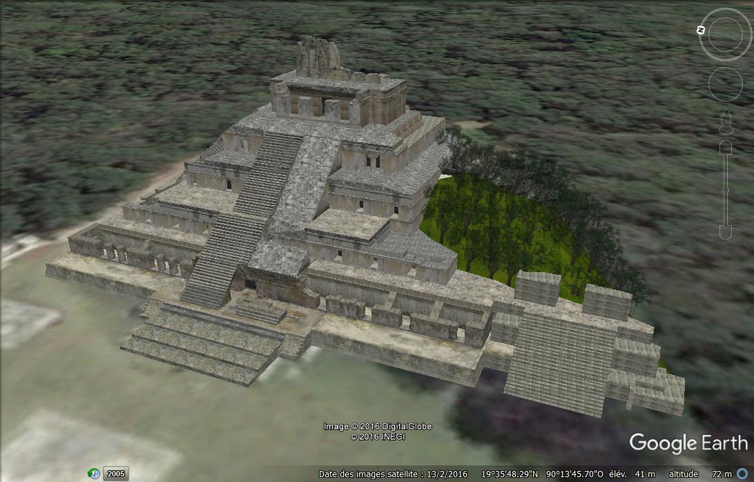 Un site maya : Edzna Pp10