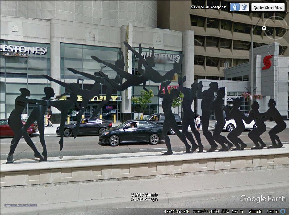 """""""The Dance"""", sculpture à Toronto - Canada Www22"""