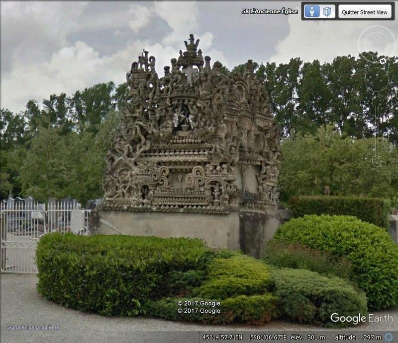 Palais idéal du Facteur Cheval, Hautes-Rives, Drôme, France Www26