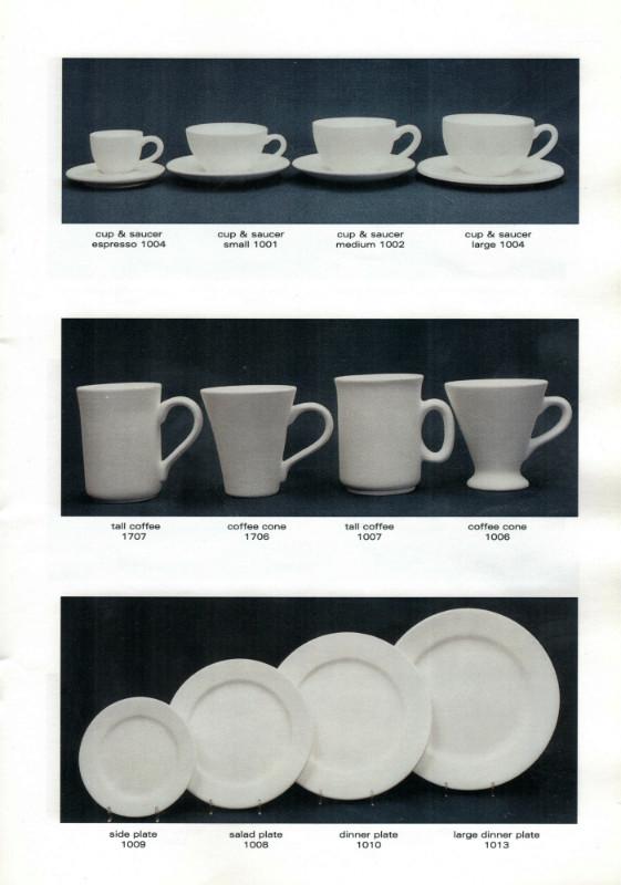 Studio Ceramics Ltd Shape numbers (2001 catalogue)  2001_s10