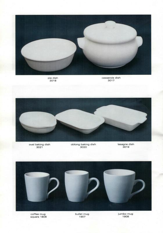 Studio Ceramics Ltd Shape numbers (2001 catalogue)  2001_s15