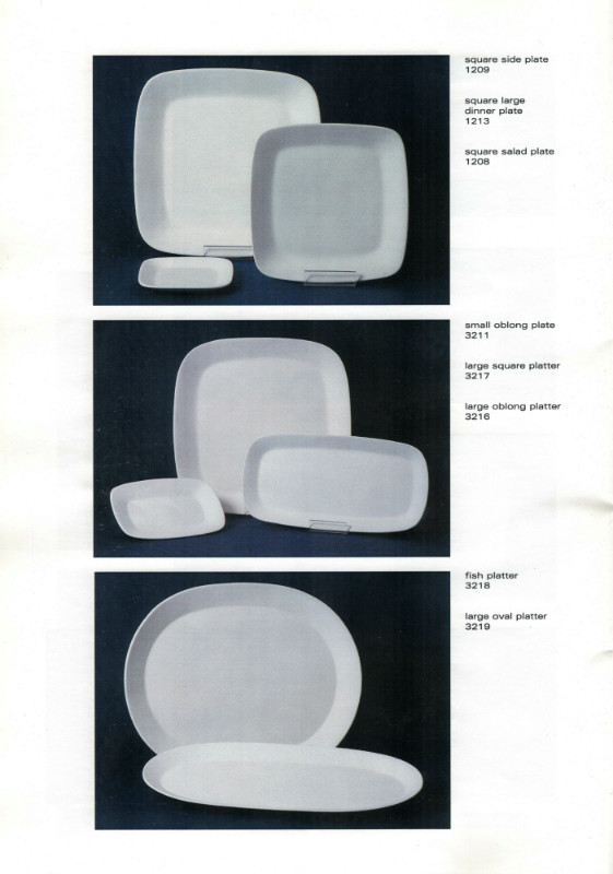 Studio Ceramics Ltd Shape numbers (2001 catalogue)  2001_s16