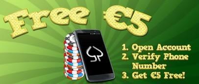 Pokernasty instant 5€ no deposit bonus + EXCLUSIVE €500 rake race ! 10003010