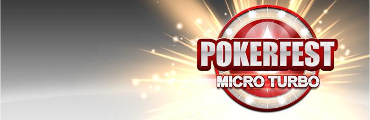 partypoker Pokerfest Micro Turbo Pokerf10